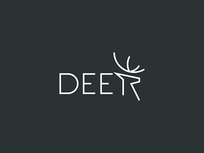 Deer Logo ! deer wordmark kogo deer wordmark vector typography branding logo branding simple logo animal animal logo creative logo line art logo design logo wordmark logo wordmark deer deer logo deer
