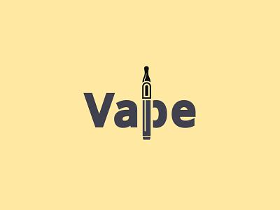 Vape Logo ! creative logo branding logo branding simple logo smoke logo fire logo wordmark wordmark logo vape logo vape