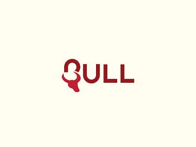 BULL creative logo logo inspiration logo branding branding logomark simple logo minimal logo logo design logo wordmark logo wordmark bull logo ox logo ox bull