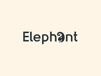 Elephant Logo ! logomark logo design creative logo simple logo text logo typography logo elephant line art branding wordmark combination logo animal logo logo elephant wordmark logo elephant wordmark elephant logo combination logo wordmark logo