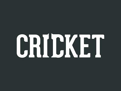 Cricket creative cricket logo negative space logo cricket negative space logo cricket logo