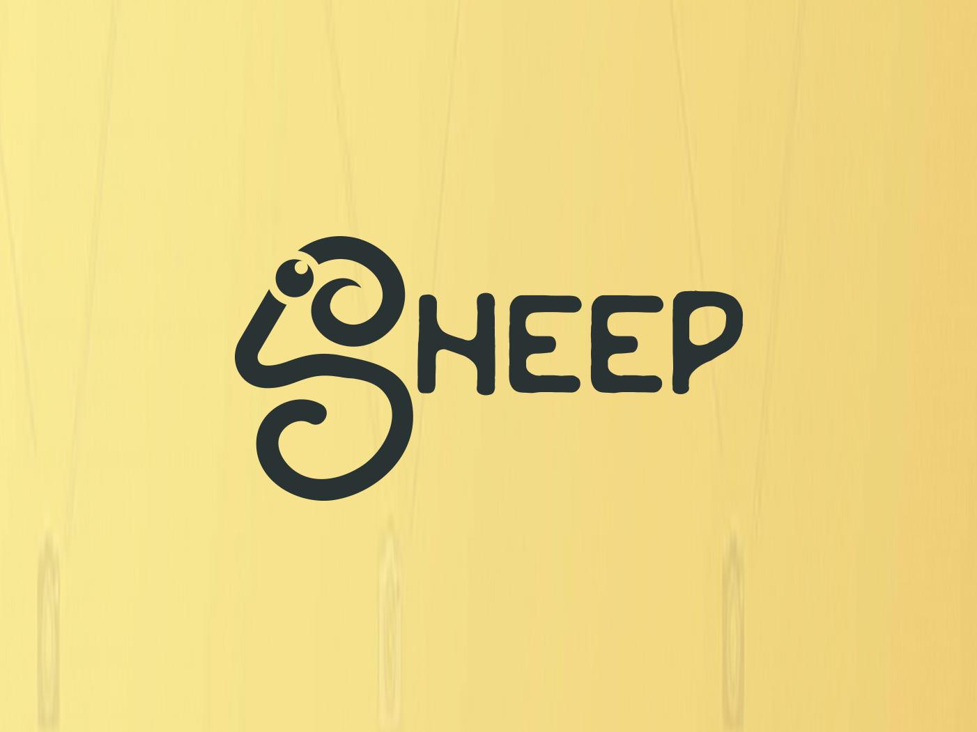 Sheep Logo ! simple sheep simple logo creative logo creative sheep logo creative sheep sheep logo sheep