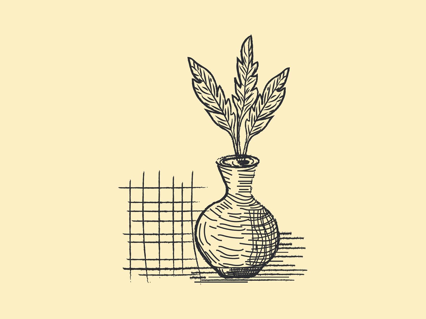 Pottery pottery logo pottery line art pottery