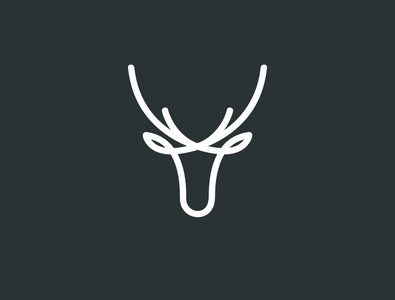 Deer Logo simple deer logo line deer line deer logo pet logo animal logo fashion logo creatie deer logo creative deer deer logo