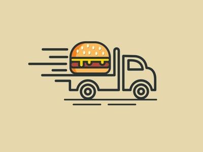 Burger Line Art !