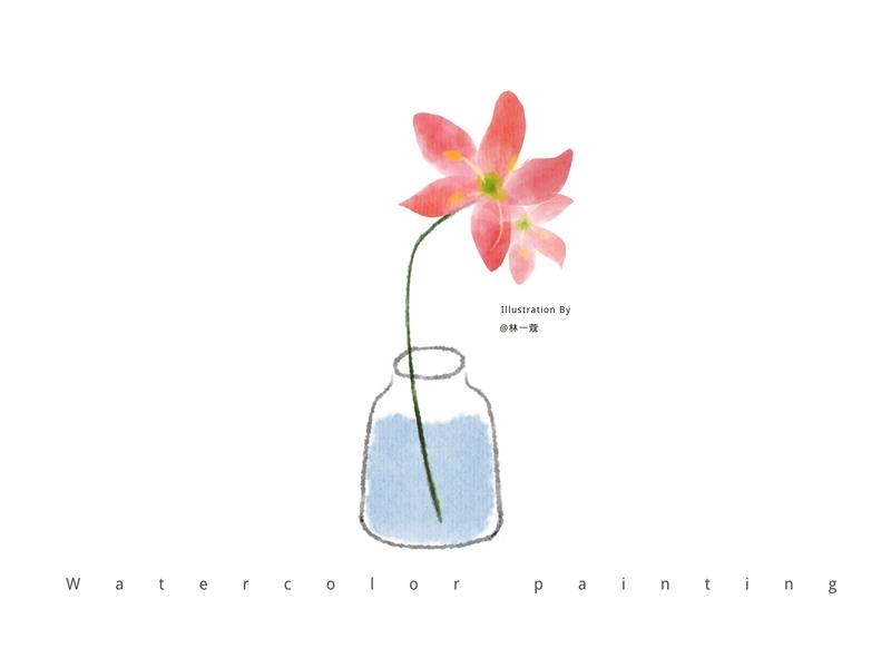 Flowers-07 flowers plants water colors