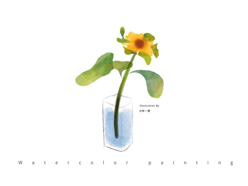 Flowers-09 flowers plants watercolors