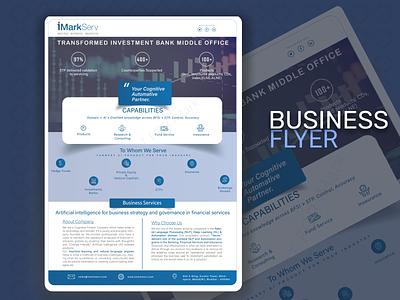 Business Flyer indesign businessflyer illustrator graphic design ux ui flyer