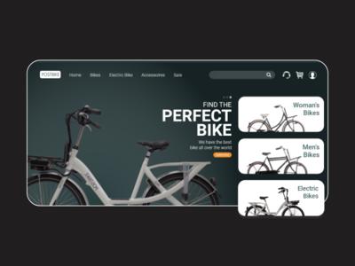 Bike Shop Landing Page