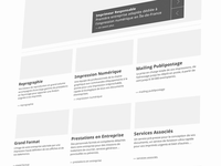 Homepage Design (first step)