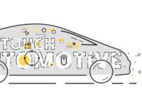 Automotive retouch video frame design