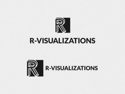 R Visualization logo design