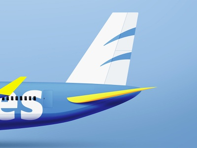 Tru Airlines vehicle design vehicle design industrial airplane visual identity branding typography brand identity logo design graphicdesign