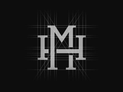 My personal logo grid system