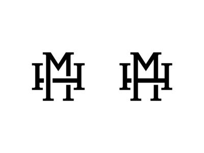 M H logo concepts