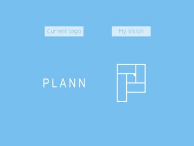 Plann app logo redesign