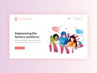 Website Homepage Illustration