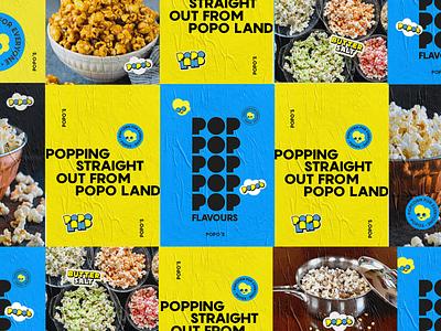 Popo's Branding logotype logodesign brand design branding design branding brand identity logo