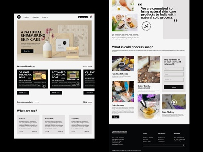UI/UX for Shimmer website design uxdesign uidesign