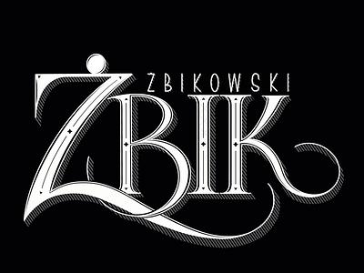 "Nicknames 2: ""The Wild Cat"" digital lettering procreate ipad lettering"