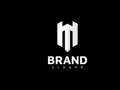 Castle M 01 logo flat grid logo vector logo design m logo design castle logo creative logo concept branding brand identity m letter logo letter