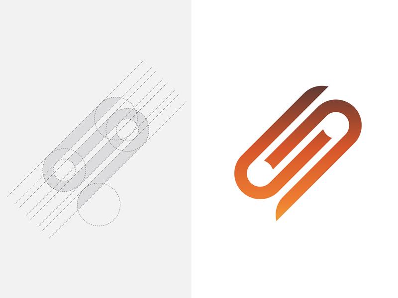 S Logo V.4 01 professional logo vector app yellow illustration min s logo logo design icon branding grid logo minimal flat
