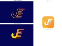 J Logo+App Icon