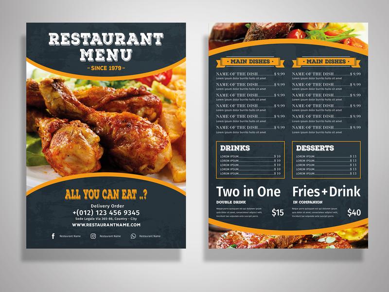 Elegant Restaurant Flyer