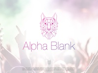 Alpha Blank   Logo Design