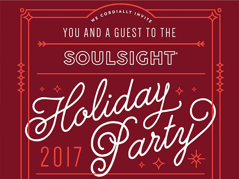 Holiday Party art decor christmas chicago event party holiday poster invitation