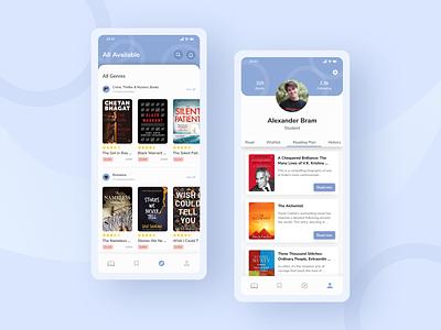 Bookstore - Mobile App bookshop shop payment ebook clean mobile ios apps app marketplace store bookstore book ux design ui design ux ui uiux