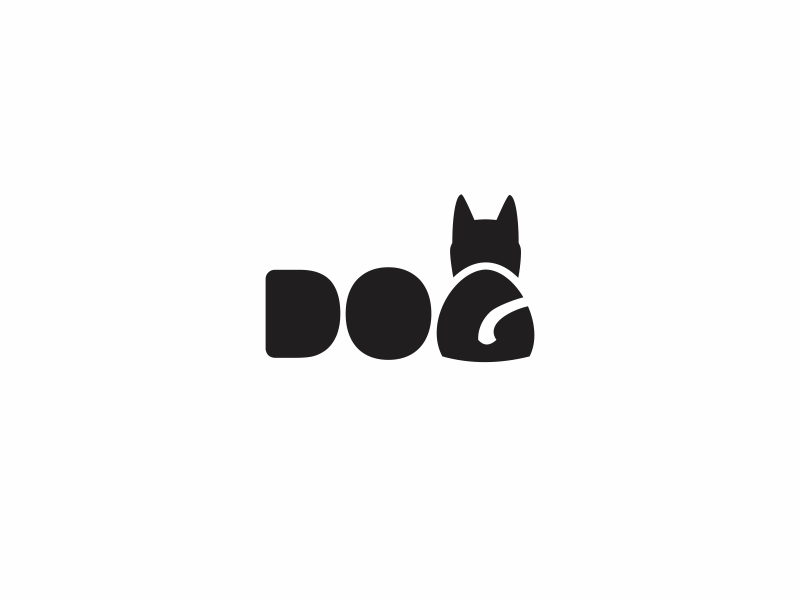 Dog Logo by vali21 - Dribbble