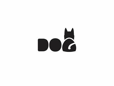 Dog Logo dog logo vector typography