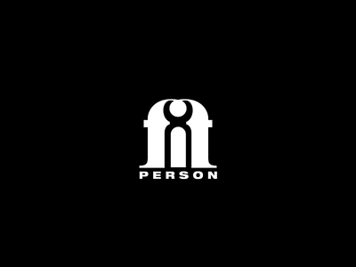 Fit Person Logo fit person people human