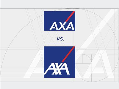 AXA logo redesign vali21 redesign logo insurance axa