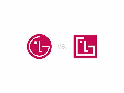 LG logo redesign electronics lg logo redesign lg logo vali21 rebranding vector