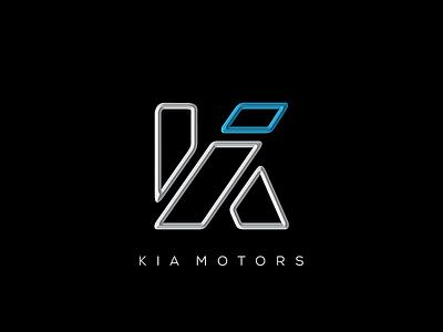 KIA logo redesign vector vali21 redesign rebranding kia