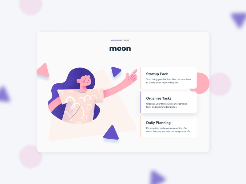 Team organizer app 🙌 website playful screen ui application web app branding ux character girl flat design digital art drawing digital illustration illustration