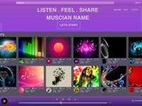 Musician Landing Page