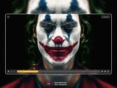 Video Player - VOD designer app designs website design uiux joker movie joker player video player webdesign vod dark adobe photoshop movie film filimo adobe xd ux ui design