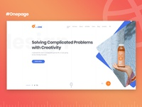 Agency Onepage PSD Template