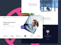 Networking Academy Landing Page