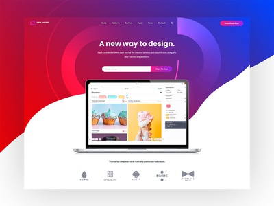 Software Landing Page - Prolanders v2