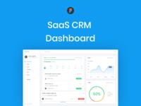 SaaS CRM Dashboard UI Kit Free Figma Template