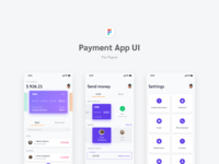 Payment App UI for Figma - Freebie