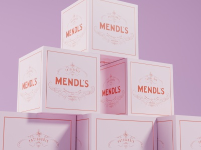 Wes Anderson Product Design - Mendl's Boxes