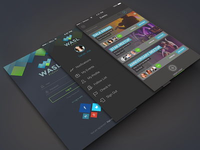 Wasl App event app