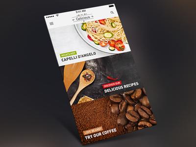 Food Cafe App