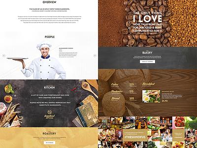 The Sum of Us Cafe Mockup webdesign website food cafe cafe mockup cafe website tsou website restaurant webdesign food website mohsin designer food ui cafe ui design