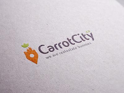 Carrotcity realestate logo real estate logos properties logos property logos realestate logo